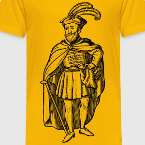 Hungarian of the 16th century - Kids' Premium T-Shirt