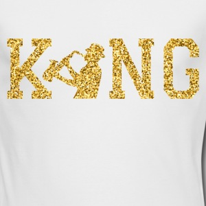 The jazz king Long Sleeve Shirts - Men's Long Sleeve T-Shirt by Next Level