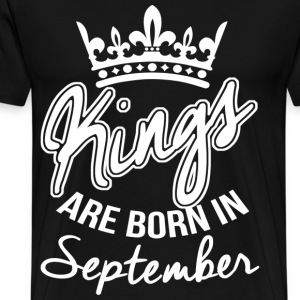 September Birthday T-Shirts - Men's Premium T-Shirt