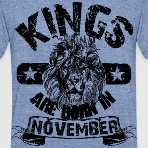 Born In November T-Shirts - Unisex Tri-Blend T-Shirt by American Apparel