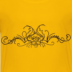 Lion flourish - Kids' Premium T-Shirt