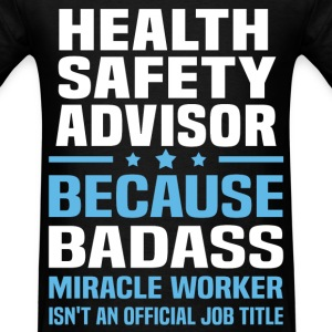 Health Safety Advisor Tshirt - Men's T-Shirt