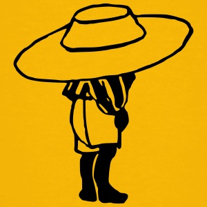 Child with large hat - Kids' Premium T-Shirt