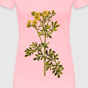Common rue (detailed) - Women's Premium T-Shirt