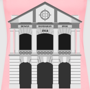 Ipoh City Hall Building (middle) - Women's Premium T-Shirt