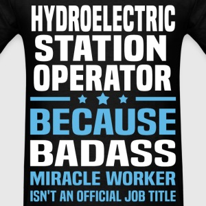 Hydroelectric Station Operator Tshirt - Men's T-Shirt