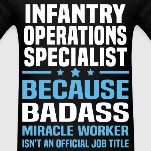 Infantry Operations Specialist Tshirt - Men's T-Shirt
