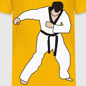 Taekwondo Fighter - Kids' Premium T-Shirt