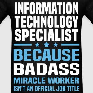 Information Technology Specialist Tshirt - Men's T-Shirt