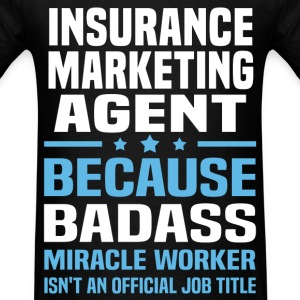 Insurance Marketing Agent Tshirt - Men's T-Shirt