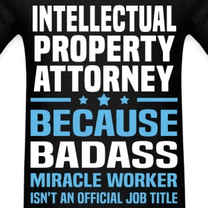 Intellectual Property Attorney Tshirt - Men's T-Shirt