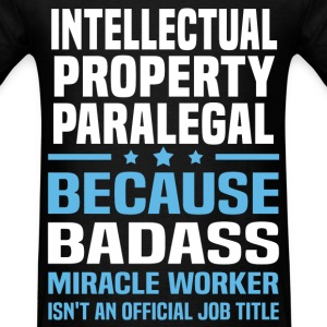 Intellectual Property Paralegal Tshirt - Men's T-Shirt