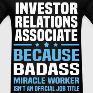 Investor Relations Associate Tshirt - Men's T-Shirt