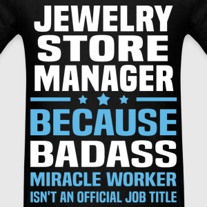 Jewelry Store Manager Tshirt - Men's T-Shirt