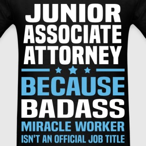 Junior Associate Attorney Tshirt - Men's T-Shirt