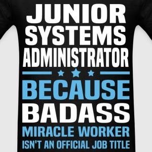 Junior Systems Administrator Tshirt - Men's T-Shirt