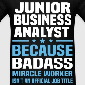 Junior Business Analyst Tshirt - Men's T-Shirt