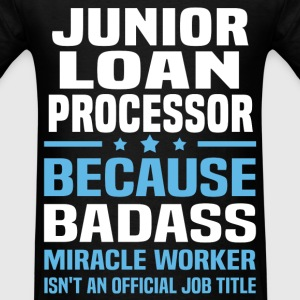 Junior Loan Processor Tshirt - Men's T-Shirt