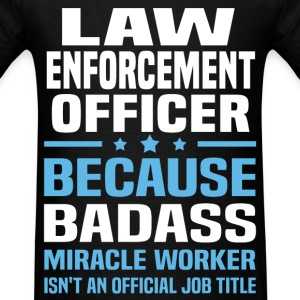 Law Enforcement Officer Tshirt - Men's T-Shirt