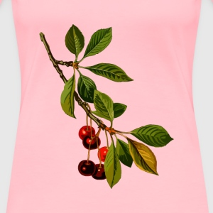 Sour cherry tree 2 (low resolution) - Women's Premium T-Shirt