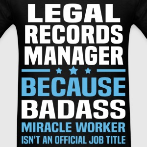Legal Records Manager Tshirt - Men's T-Shirt