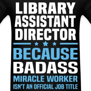 Library Assistant Director Tshirt - Men's T-Shirt
