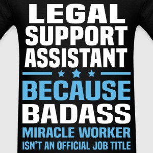 Legal Support Assistant Tshirt - Men's T-Shirt