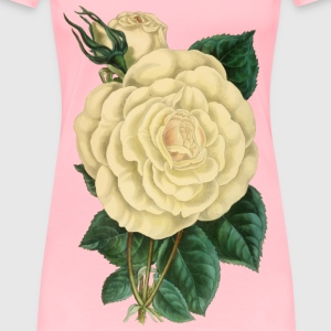 Vintage Rose Illustration - Women's Premium T-Shirt