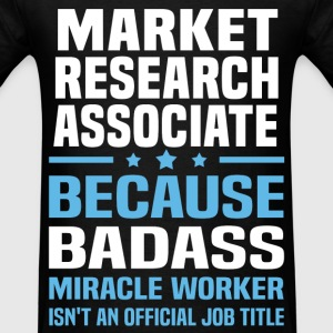 Market Research Associate Tshirt - Men's T-Shirt
