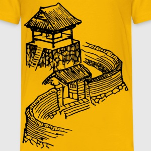Japanese construction - Kids' Premium T-Shirt