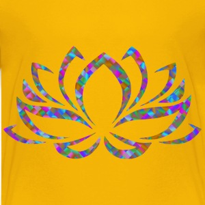 Prismatic Lotus Flower 5 - Kids' Premium T-Shirt