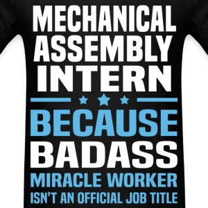 Mechanical Assembly Intern Tshirt - Men's T-Shirt