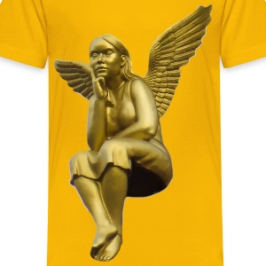 Golden Angel - Kids' Premium T-Shirt