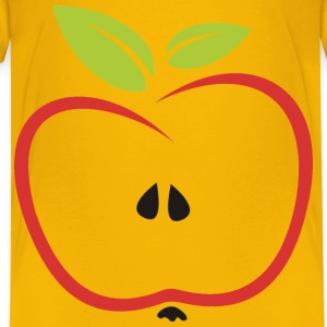 Stylized Apple Leaves - Kids' Premium T-Shirt