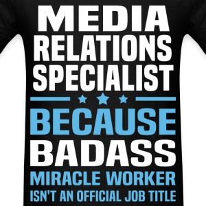 Media Relations Specialist Tshirt - Men's T-Shirt