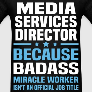 Media Services Director Tshirt - Men's T-Shirt