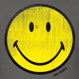 SmileyWorld Classic Oldschool Smiley - Men's T-Shirt
