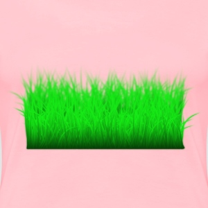 Grass Layered - Women's Premium T-Shirt
