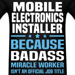 Mobile Electronics Installer Tshirt - Men's T-Shirt