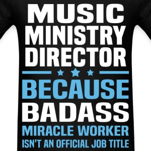 Music Ministry Director Tshirt - Men's T-Shirt