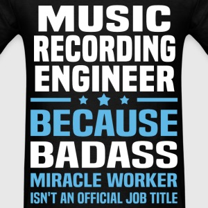 Music Recording Engineer Tshirt - Men's T-Shirt