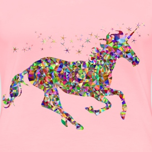 Chromatic Gem Magical Unicorn - Women's Premium T-Shirt