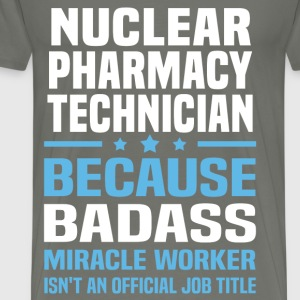 Nuclear Pharmacy Technician Tshirt - Men's Premium T-Shirt