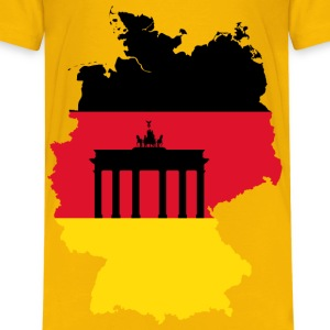 Germany Map Flag 2 - Kids' Premium T-Shirt
