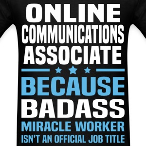 Online Communications Associate Tshirt - Men's T-Shirt