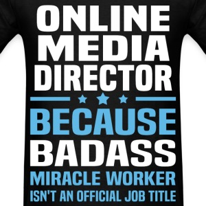 Online Media Director Tshirt - Men's T-Shirt