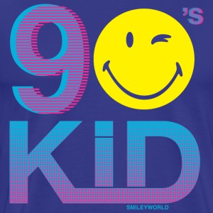 SmileyWorld Cool 90s Kid - Men's Premium T-Shirt
