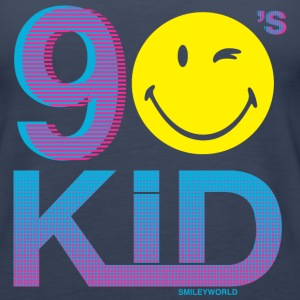 SmileyWorld Cool 90s Kid - Women's Premium Tank Top