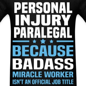 Personal Injury Paralegal Tshirt - Men's T-Shirt