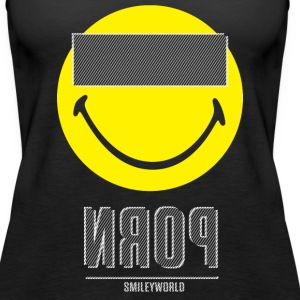 SmileyWorld P*rn Censor Bar - Women's Premium Tank Top